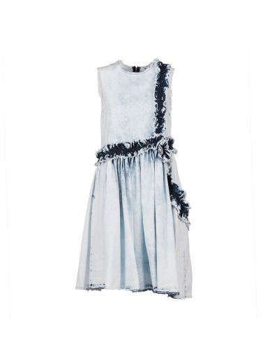 MSGM Msgm Bleached Denim Dress. #msgm #cloth #https: