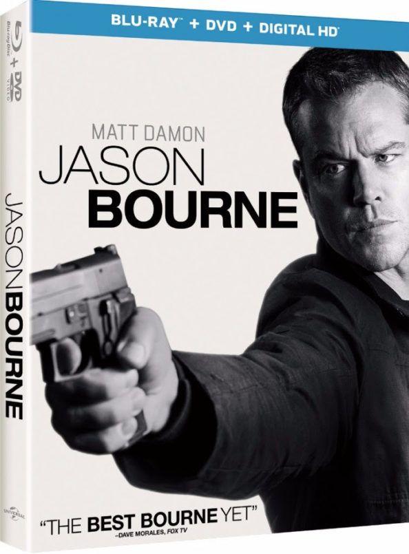 Jason Bourne Blu-ray Release Date Announced