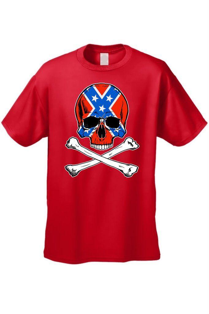 Pin On Rebel Flag T Shirts