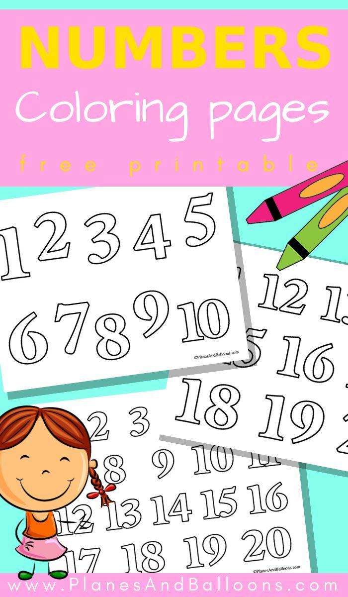 Numbers 1 20 Coloring Pages Kindergarten Worksheets Free Printables Numbers Preschool Coloring Pages [ 1200 x 700 Pixel ]