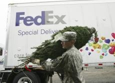 FedEx to deliver symbols of holiday cheer to U.S. service members and their families