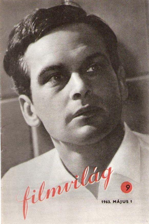 Filmvilág 9. - 1963. május 1. VI. évf. 9. szám - Latinovits Zoltán - 'Oldás és kötés' (filmművészeti folyóirat)