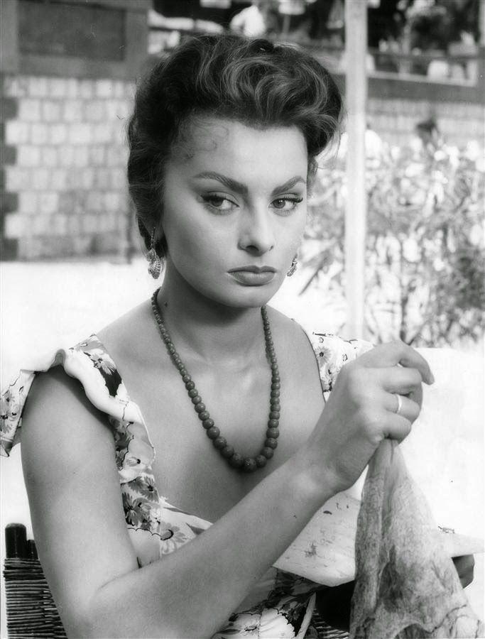"Sophia Loren in ""Pane, amore e..."" (1955)"