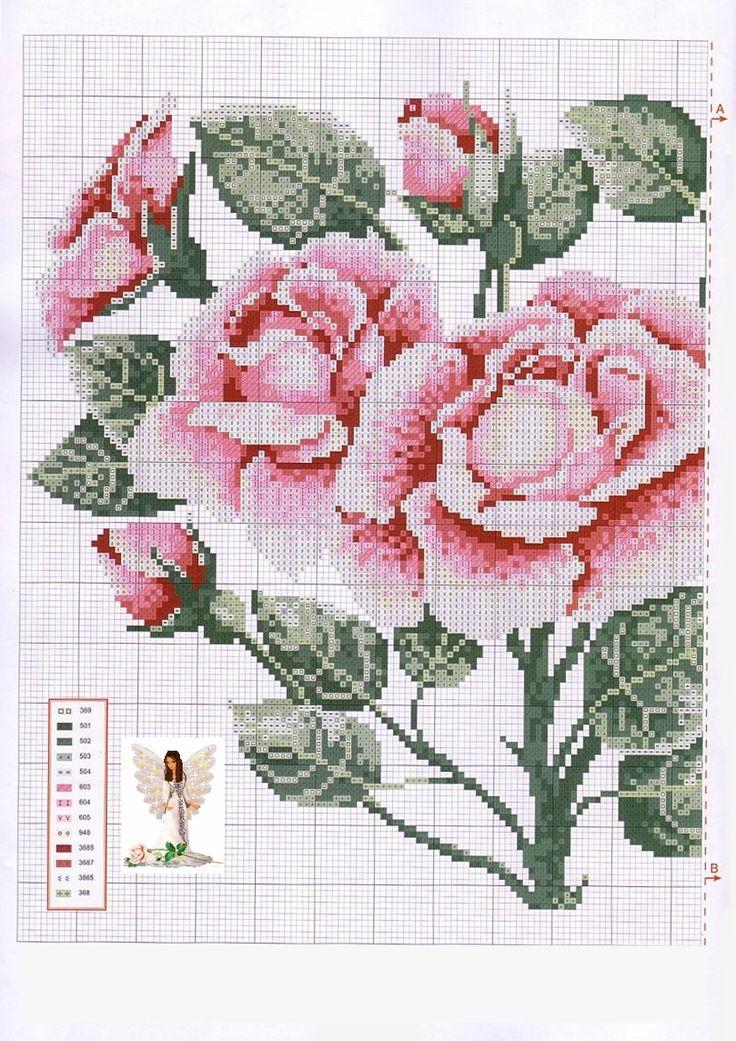 Amiguinhas, mais um coração de rosas!!!!!  Aqui, onde eu moro, Maio e Junho são os meses das rosas.  Por passamos, em todos os muros existe...