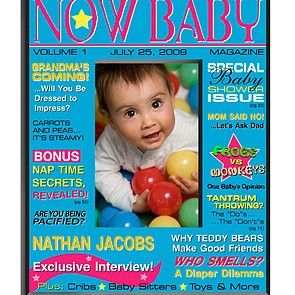 Now Magazine Baby Boy Picture Frame