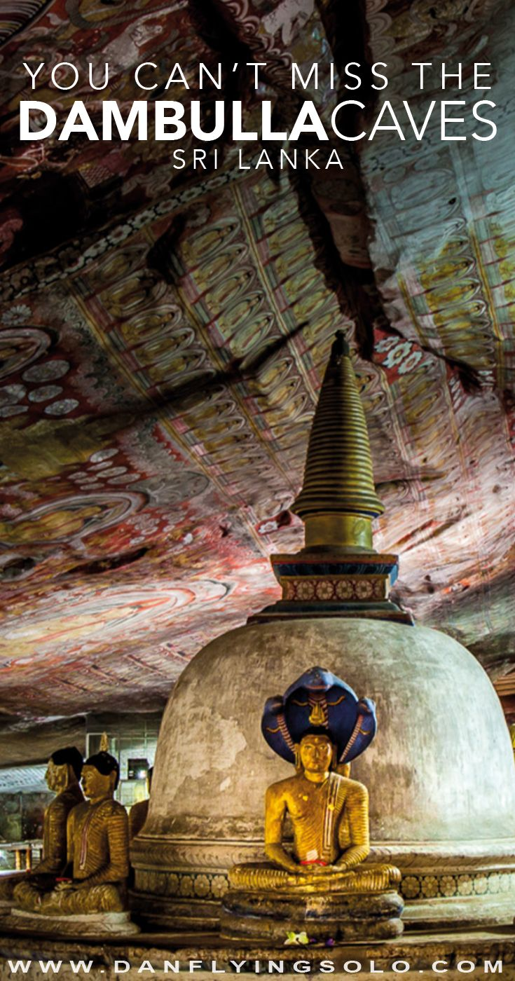Don't miss the #Dambulla Caves in Sri Lanka, easy to visit with Sigiriya find helpful tips, costs, opening times and details.