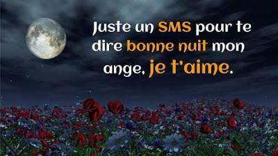 SMS d'amour pour dire Bonne nuit