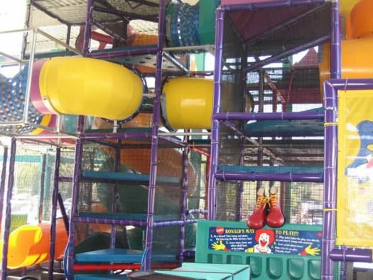 Some of today's savvier and consumer-minded children may be appalled to know some of us actually held birthday parties at (gasp!) McDonalds, but back in the late 80s and early 90s the novelty of these indoor PlayPlaces made them an attractive venue for children's celebrations.