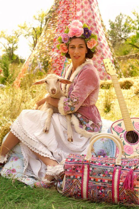 spring lamb!Gypsy Soul, Gypsy Style, Gypsyboho Chic, Gypsy Lady, Gypsyboho Lifestyle, Boho Lady, Boho Style, Families Ibiza, Bohemian Inspiration