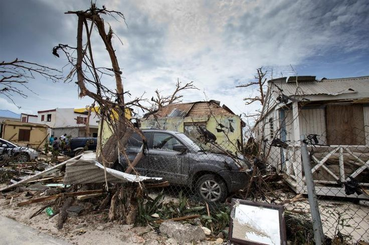 The aftermath of Hurricane Irma on Saint Martin island.       Netherlands Ministry of Defense- Gerben van Es/via REUTERS