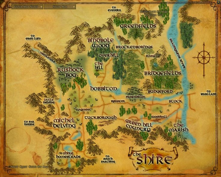 Shire - Lord of the Rings Wiki