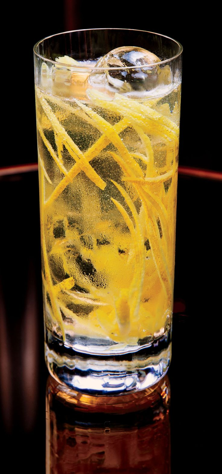 This highball cocktail is refreshing, and impossible to mess up.