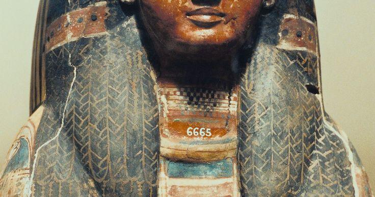 Como fazer um sarcófago para um trabalho de História. O Egito Antigo é conhecido através das pirâmides, escrita hieroglífica e múmias assustadoras guardadas em caixões decorados. Estes caixões são denominados sarcófagos, e têm o formato de um corpo humano, geralmente a imagem do falecido pintada na parte frontal com hieróglifos nos lados. Um aluno pode confeccionar seu próprio sarcófago para um ...