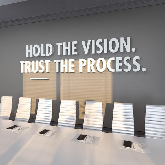 Trust The Process Office Design 3d Office Decor Office Etsy Office Wall Design Grey Interior Doors Office Interior Design