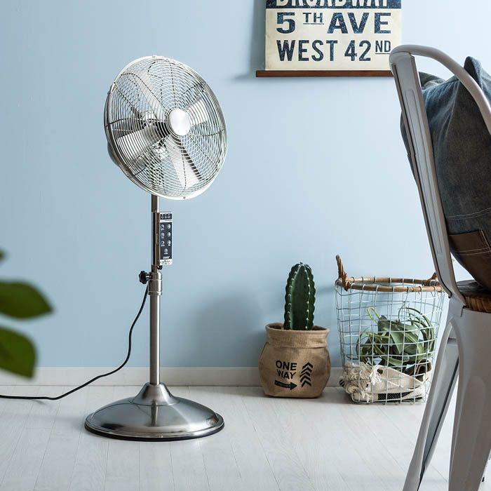 おしゃれな扇風機 ファン メタルリビングファン リビング ファン 扇風機 インテリア 家具