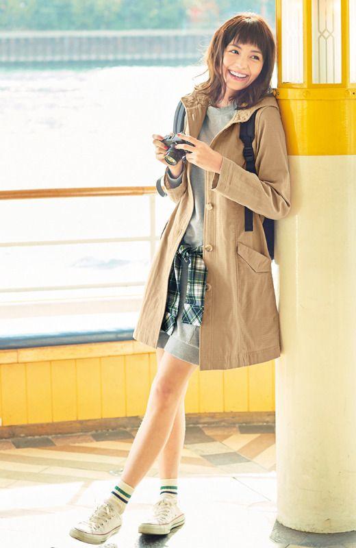 《ジャストワン》 リブ イン コンフォート コットン100%のダブルガーゼ素材で着心地やわらかフード付きコート | フェリシモ
