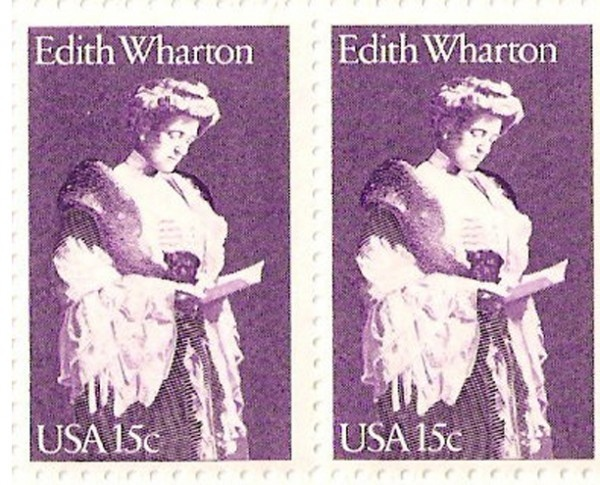Edith Wharton.: Author, Us Issues Stamps, Literary Stamps, Usissu Stamps, Edith Wharton, Stamps Collection