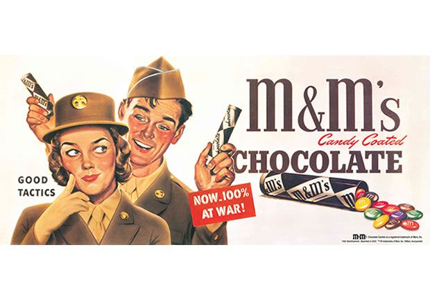 The Wartime Origins of the M&M — Hungry History