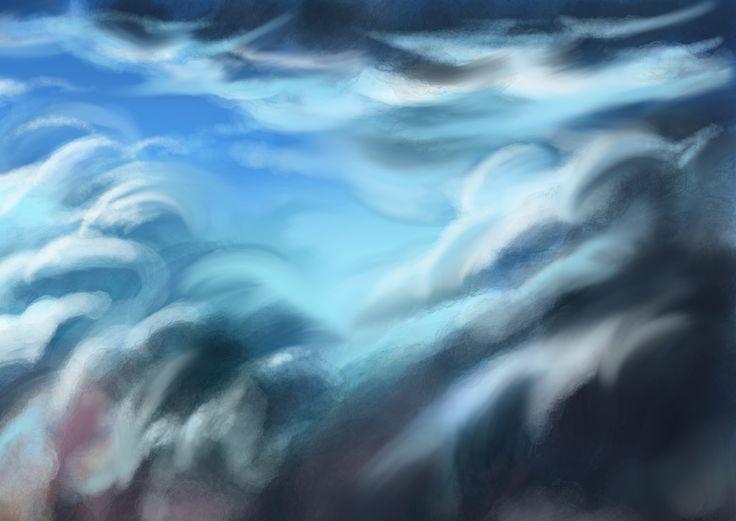 Cloudescape detail