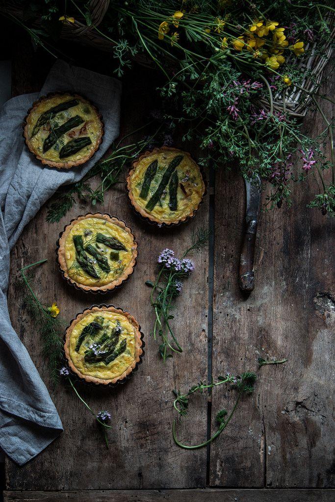 https://flic.kr/p/SNrzLe | quiche con asparagi