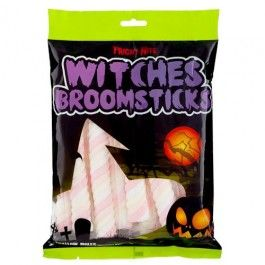 Witches Broomstick Marshmallows 150g Only treats for us! :) #poundlandhalloween