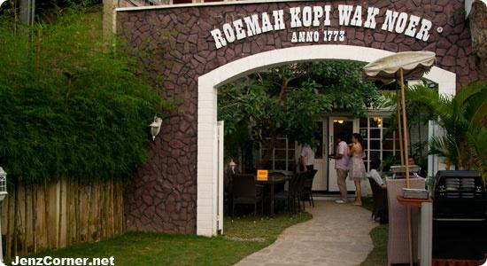Roemah Kopi Wak Noer ~ Wak Noer's coffee house