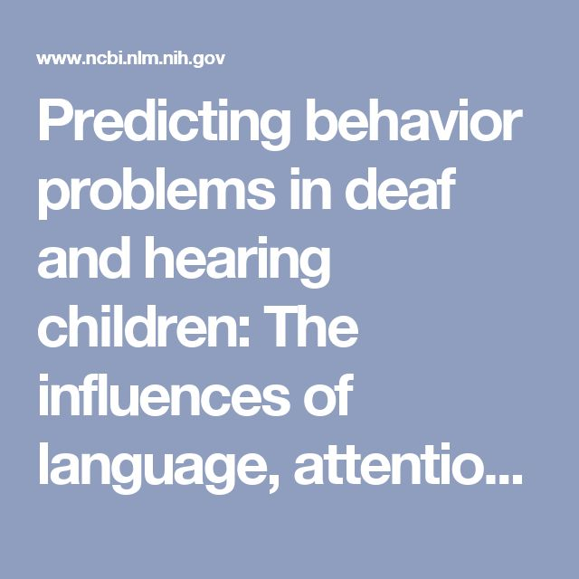 language development with deaf children This early language deprivation explains the troublesome statistic that 90 percent of deaf children born into homes with only hearing caregivers experience delays in language acquisition compared to hearing children in hearing families and deaf children in deaf families (kuntze 1998 meier and newport 1990.