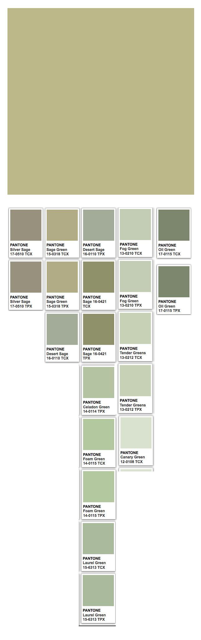 The 25 best pantone green ideas on pinterest pantone - What color is sage green ...