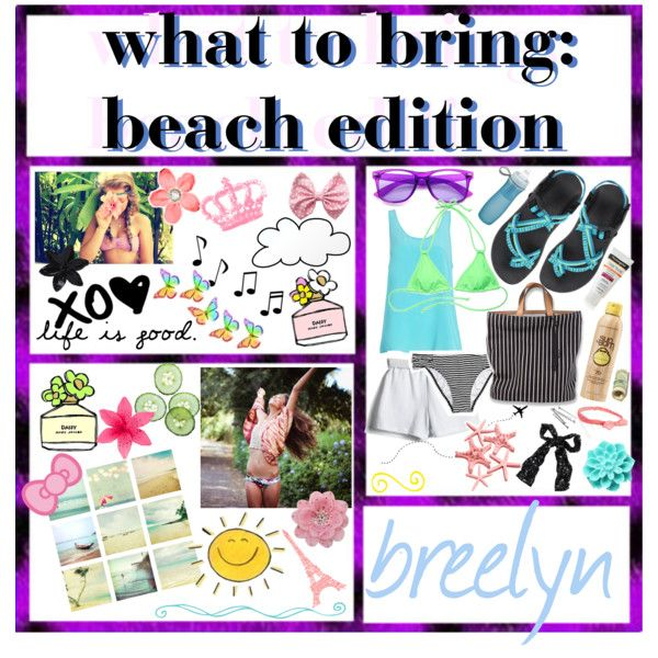 What To Bring The Beach