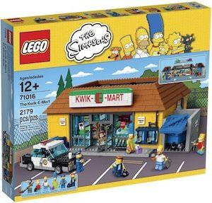 Simpsons LEGO Kwik-E-Mart 71016