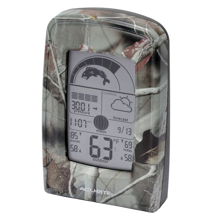 86 best weather stations images on pinterest weather for Barometric pressure forecast for fishing