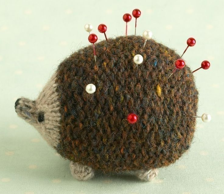 Made a couple of these! Love them!   Hedgehog Knitting Pattern by Littlecottonrabbits #Hedgehog #Knitting