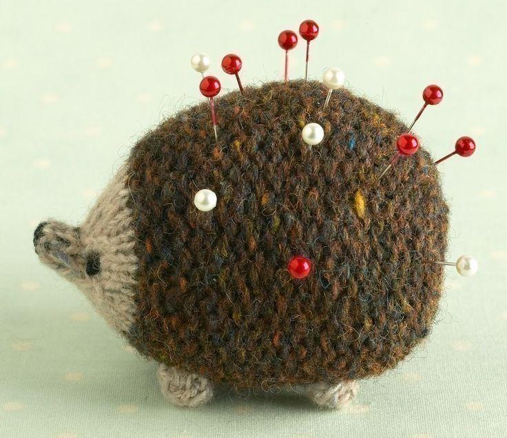Hedgehog Knitting Pattern by Littlecottonrabbits #Hedgehog #Knitting