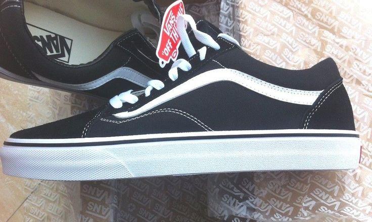 Vans Old Skool Skate Schuhe, Classics D3HY28, Schwarz/Weiß, Neu, Größe: 40 #schuhe