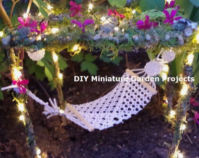 DIY Miniature Tree Flower Garden Fairy Ornament Plants Home Decoration Craft