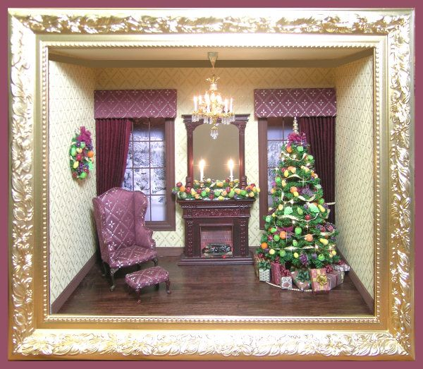 485 Best Miniatures-Christmas-Rooms-Decorations Images On
