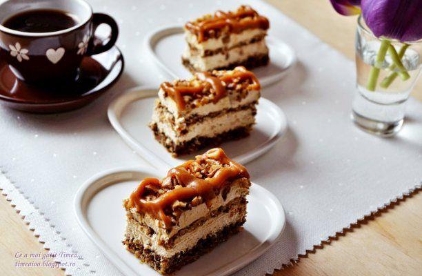 Astăzi, prăjitură rapidă cu caramel