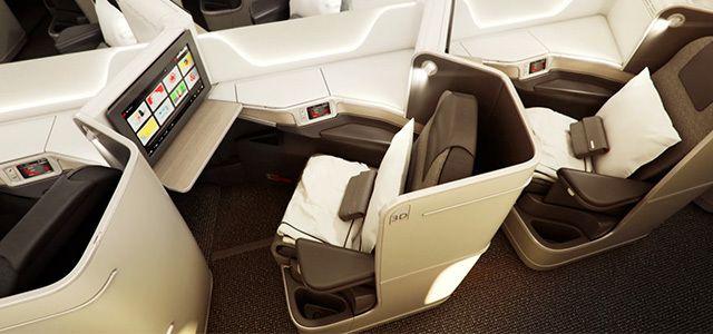 Air Canada New 787 Executive Class Pod.