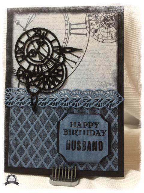 Artdeco Creations Brands: Happy Birthday Husband by Anita Enright