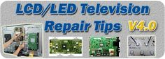 V4.0- Collection of LCD Television Repair Tips - LCD LED TV Power Supply Schematic Diagram