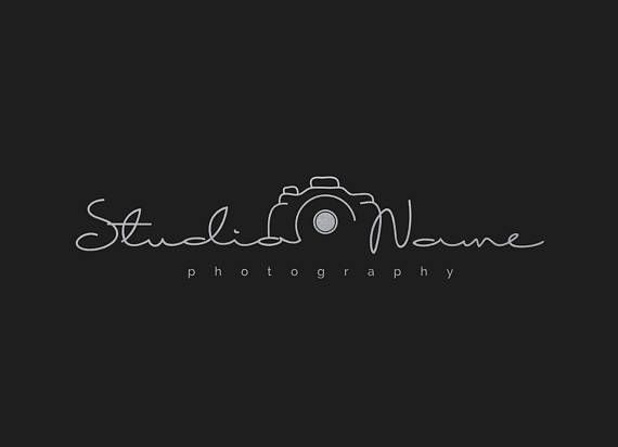 Wedding Photography Studio Logo: Photography Modern Camera Logo (With Multiple Foil Colors