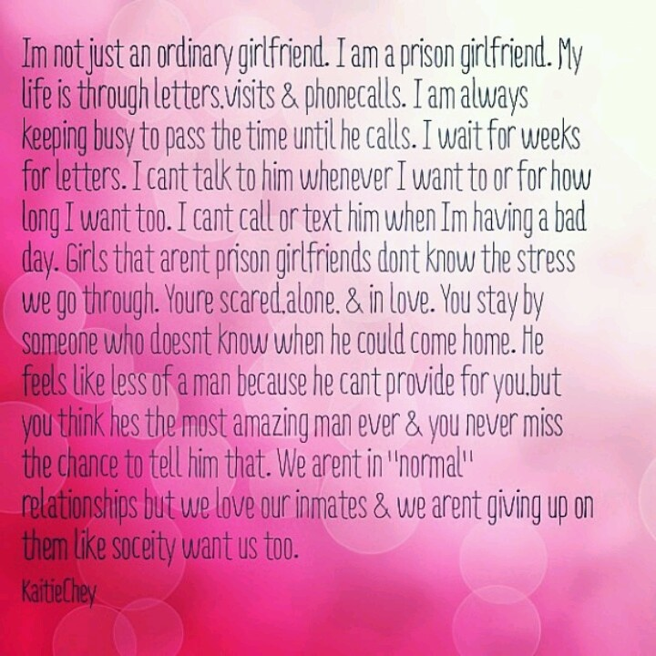 I Love You Quotes For Him In Jail : Jail Love Quotes, Prison Love Quotes, Prison Quotes Love, I Love My ...