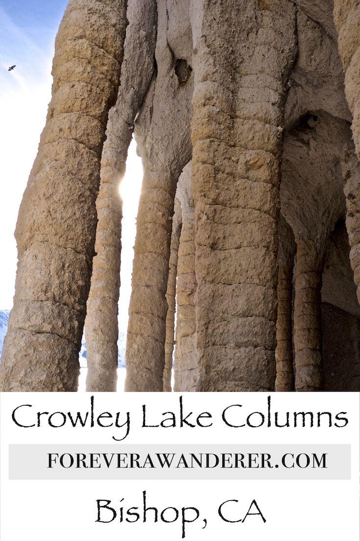 Crowley Lake Columns, Mammoth Lakes CA