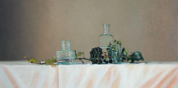 """Realistic painting in oilpaint. """"Hedra"""" www.nataschavandenberg.com"""