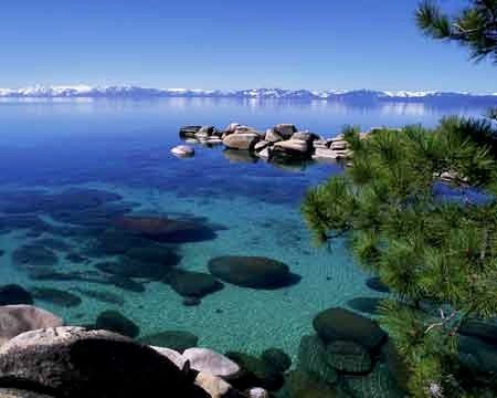 Lake Tahoe - is there anywhere on the planet like this??  Anywhere?!?!