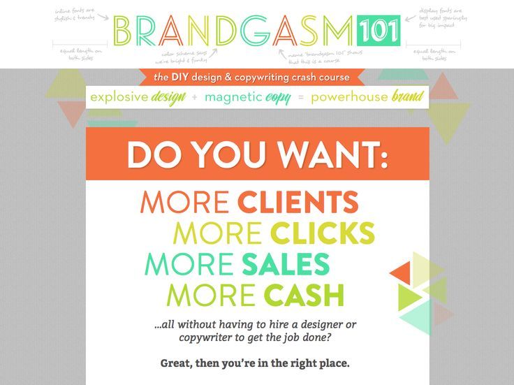 46 best people to absorb images on pinterest beautiful people with brandgasm 101 youll learn how to design like a professional without being one write magnetic copy that actually sells and make your marketing fandeluxe Image collections