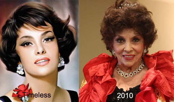 "Gina Lollobrigida or as the Italians nick named her ""Gina Nationale"" (our national Gina) Beauty beyond words...still alive and kicking"