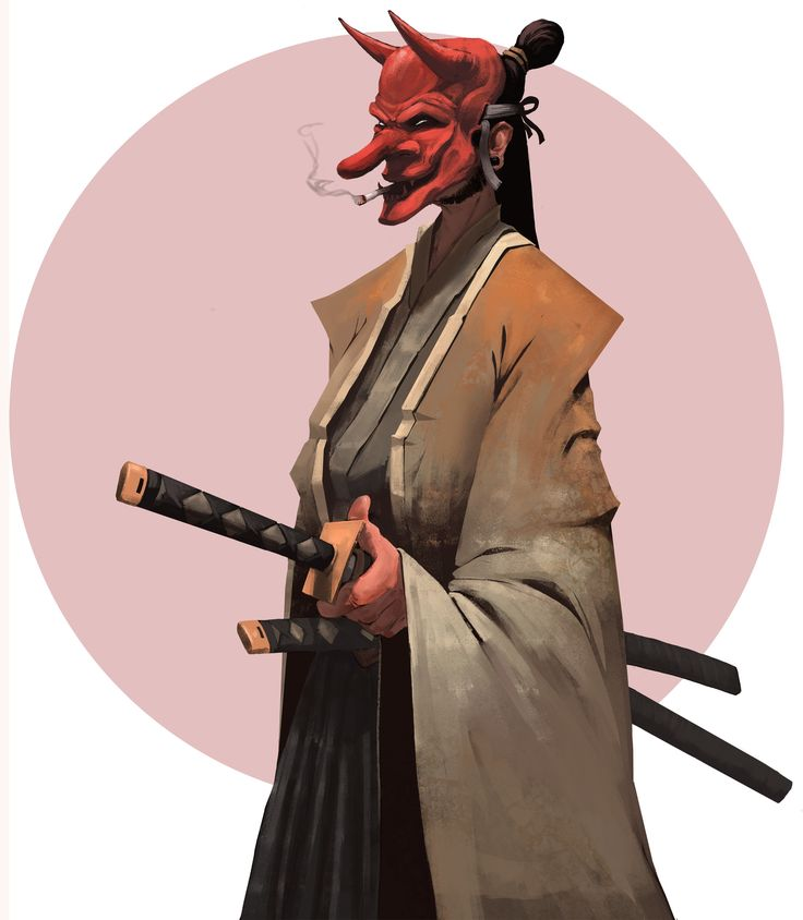 ArtStation - Tengu, Nick De Spain
