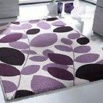 Fine Looking Purple Area Rug