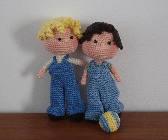 Amigurumi Boy Doll Pattern : BB Boys Free pattern, Amigurumi doll and Boys
